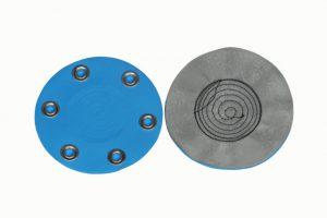Disc, Grommets, Set, Blue