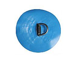 "D-Ring Circular 1"" Blue"