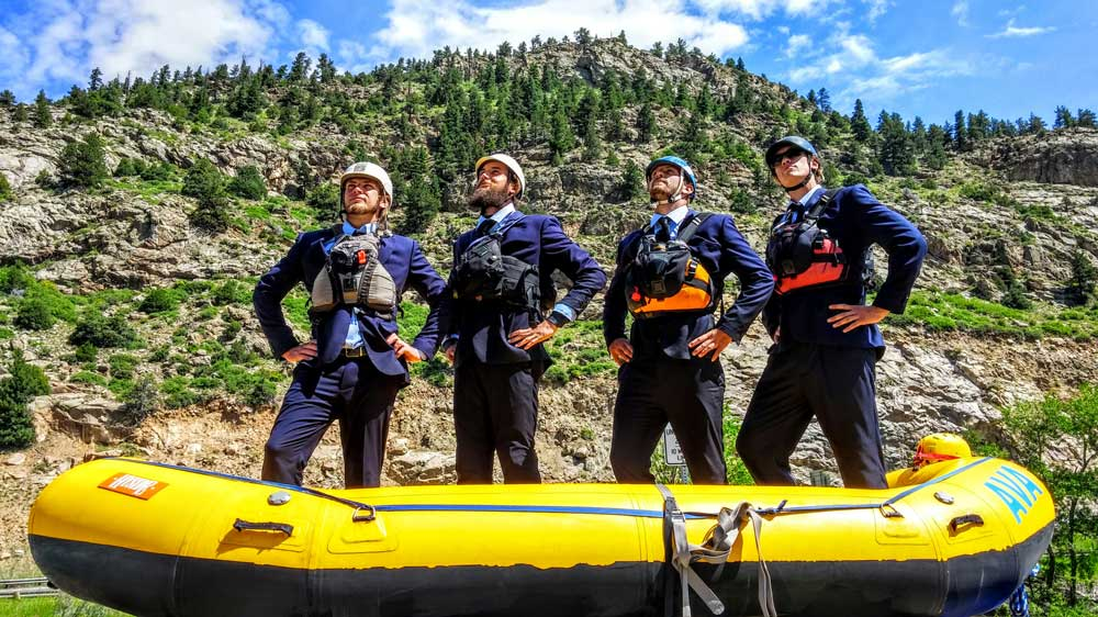 AVA's guides of the Lower Canyon of Clear Creek have an average of 6 years of experience and have traveled much of the world. These guys have made rivers their life. They choose to come back to AVA on Clear Creek year after year because of the quality of the staff at AVA and the challenge of the whitewater.