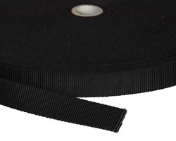 Webbing-0.75in-Black