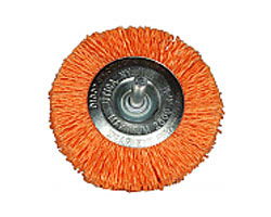 Wheel Brush Standard Orange